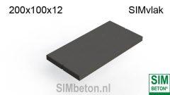 Industrie-Platten SIMvlak